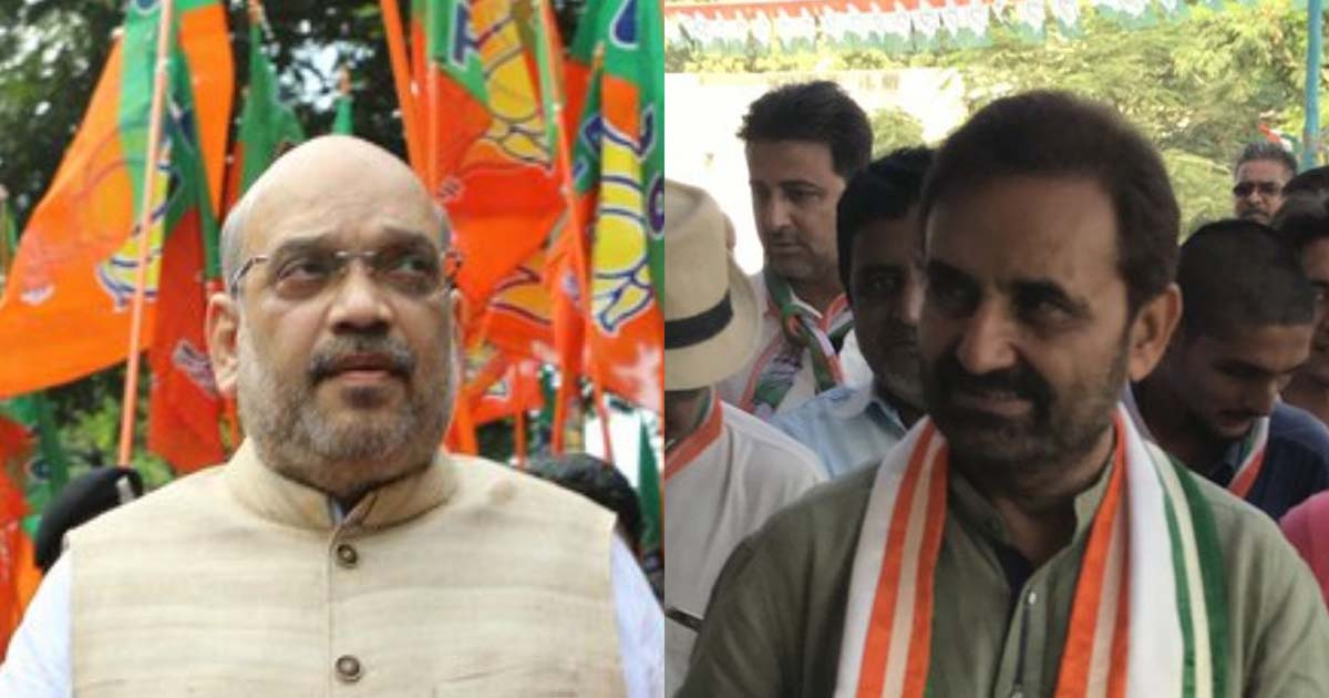 Amit Shah and Shaktisinh Gohil