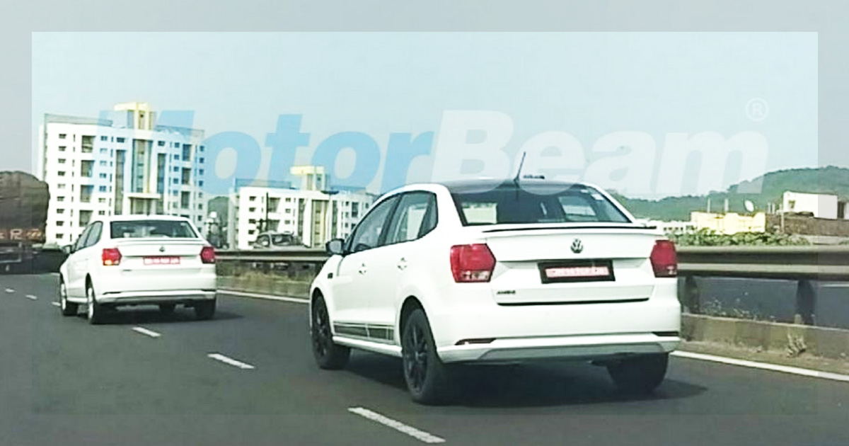 Volkswagen Ameo Special Edition Spotted